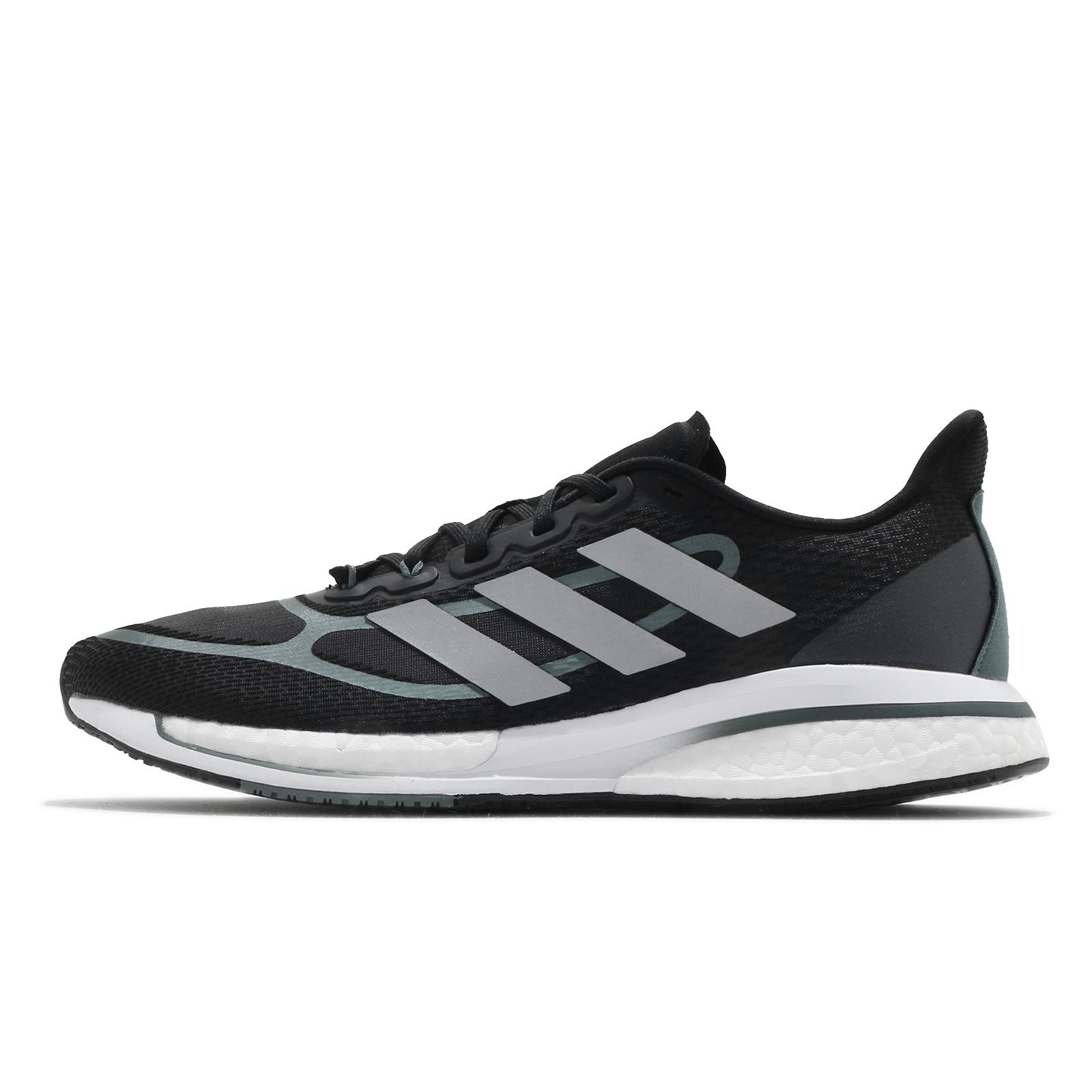 adidas 慢跑鞋 Supernova Plus M 黑 灰 路跑 愛迪達 運動鞋 男鞋【ACS】 FX6658