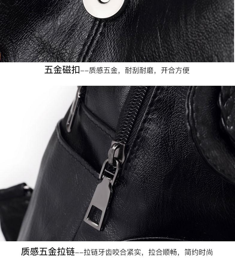 雙肩包女2020新款潮韓版百搭時尚軟皮女士小背包女學生書包女包包