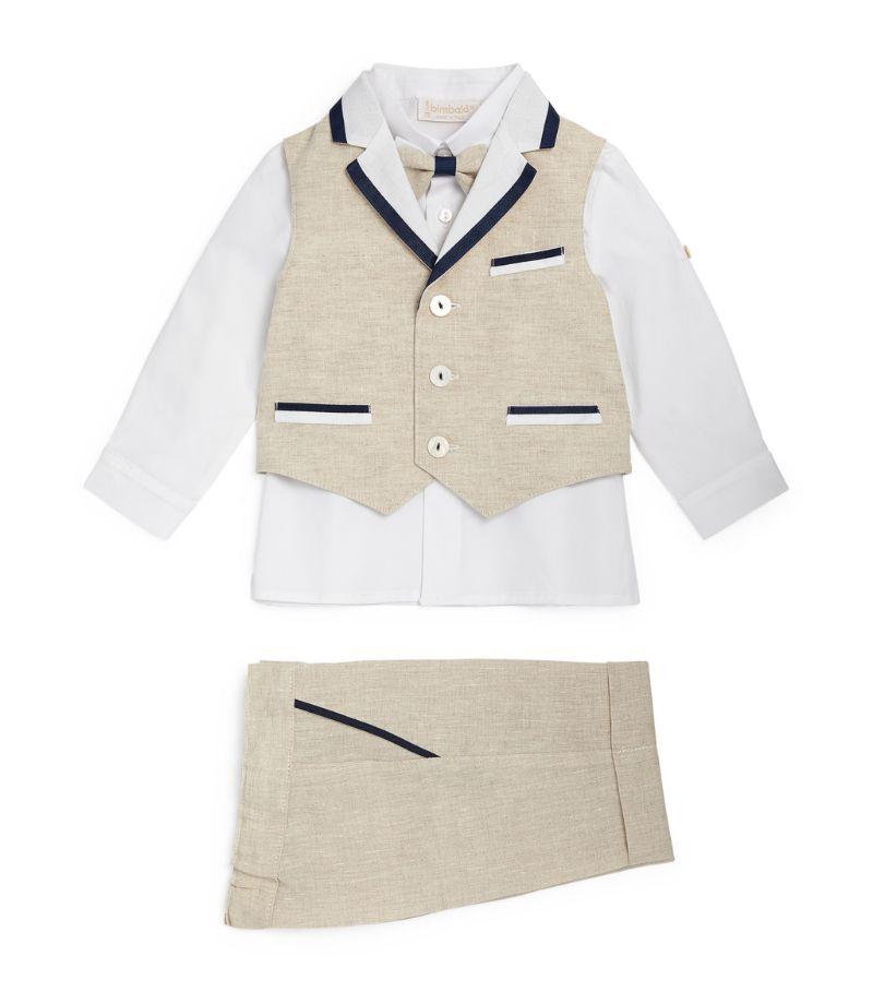 Bimbalo Waistcoat, Trousers And Shirt Set (3-24 Months)