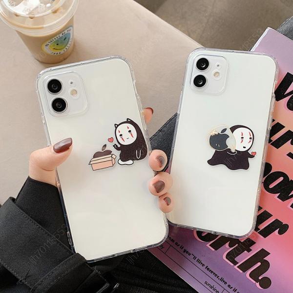 可愛卡通 無臉男 潮牌 適用 蘋果 iphone 12 mini 11pro xr xs max 78 se2 手機殼