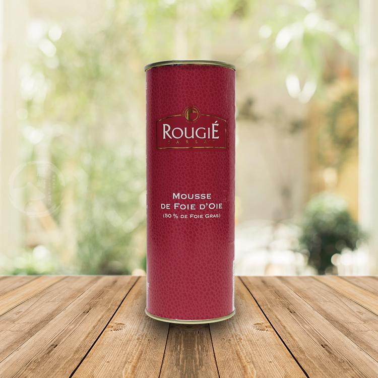 【勝崎-599免運】法國路其鵝肝醬慕斯50%1罐組(320公克/1罐)
