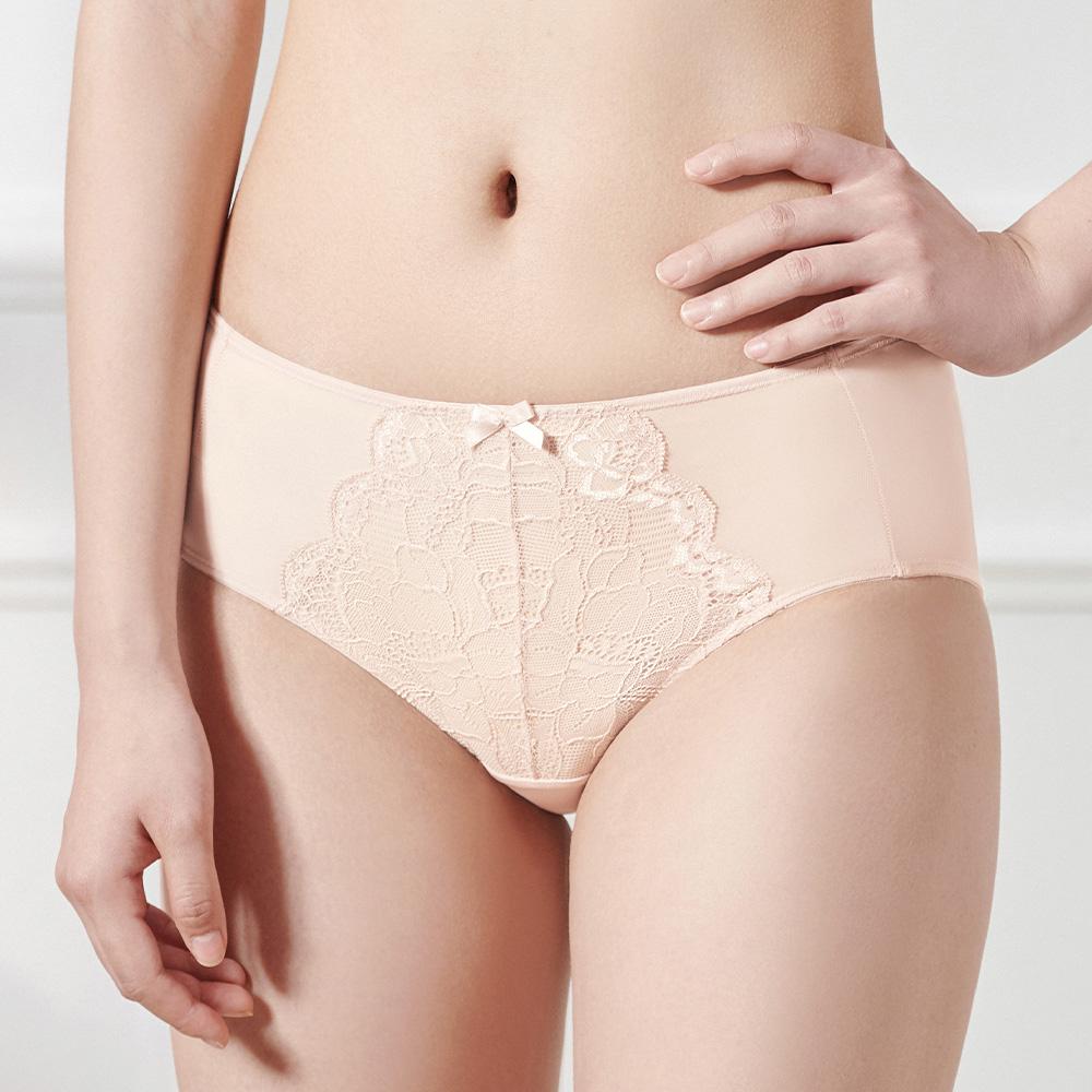 【2件9折】黛安芬-輕塑美型系列中腰平口內褲 M-EL 橘粉色|YE003210 VV