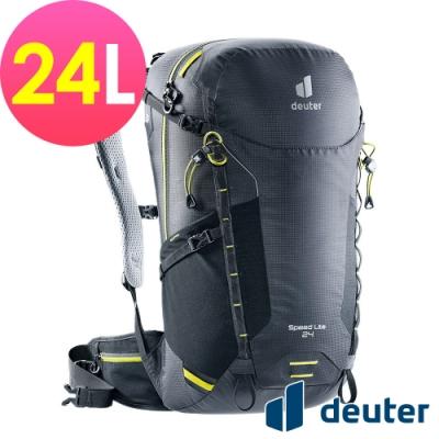 【deuter 德國】SPEED LITE AIR 24L超輕量旅遊背包3410421黑/戶外休閒包/健行包/登山包*