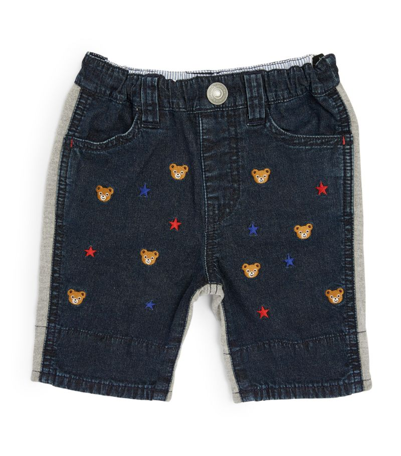 Miki House Embroidered Shorts (9 Months - 7 Years)