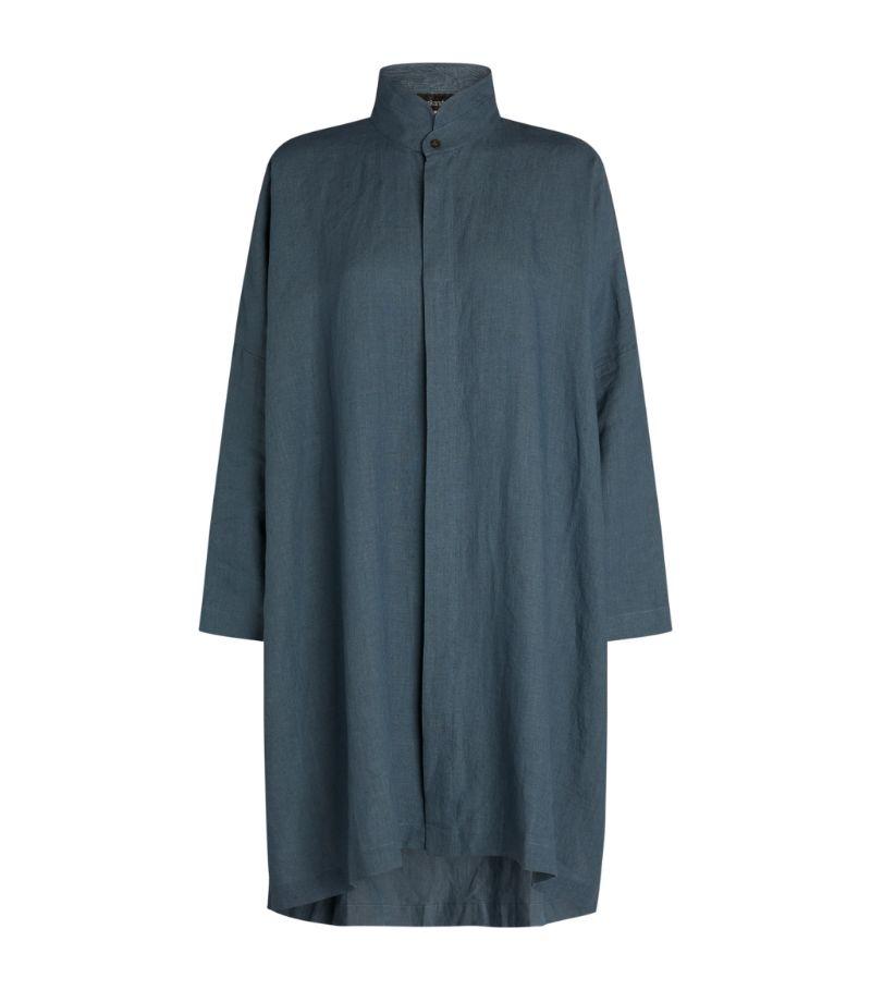 Eskandar Linen Tunic Blouse