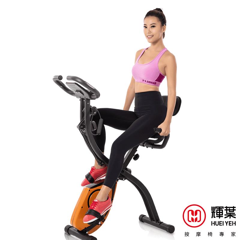 輝葉二合一飛輪伸展健身車 HY-20153