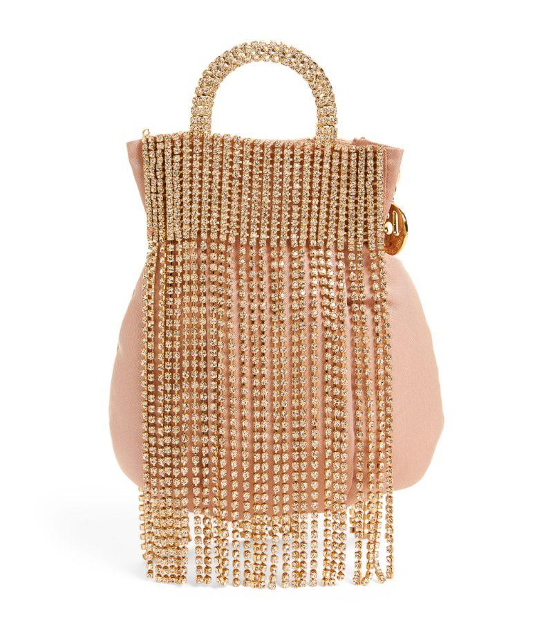 Rosantica Tassel-Embellished Follie Top-Handle Bag
