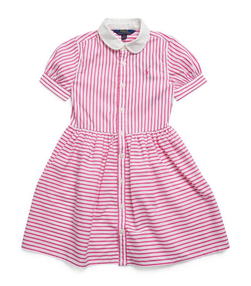 Ralph Lauren Kids Cotton Striped Dress (2-4 Years)