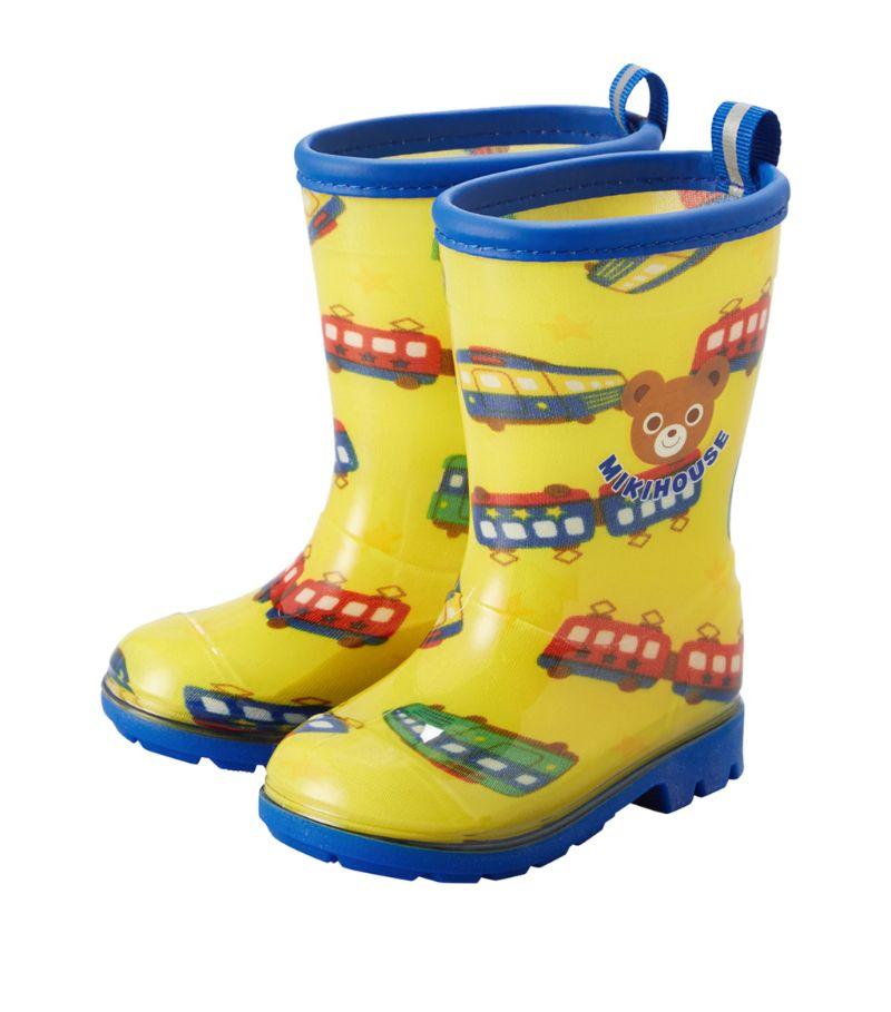 Miki House Car Print Rain Boots