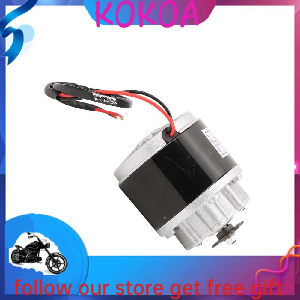 Kokoa 齒輪馬達腳踏改裝自行車3000 rpm 250W 13.4A