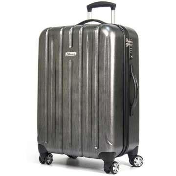 EMINENT 雅仕 -28吋 輕量PC拉絲金屬旅行箱 -三色可選URA-KF21-28