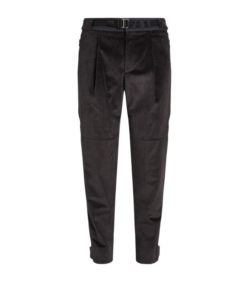 Sease Cotton Corduroy Runner Drone Trousers