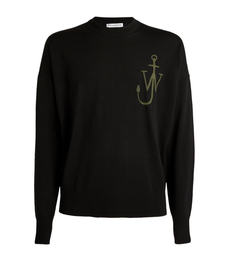 Jw Anderson Anchor Logo Sweater