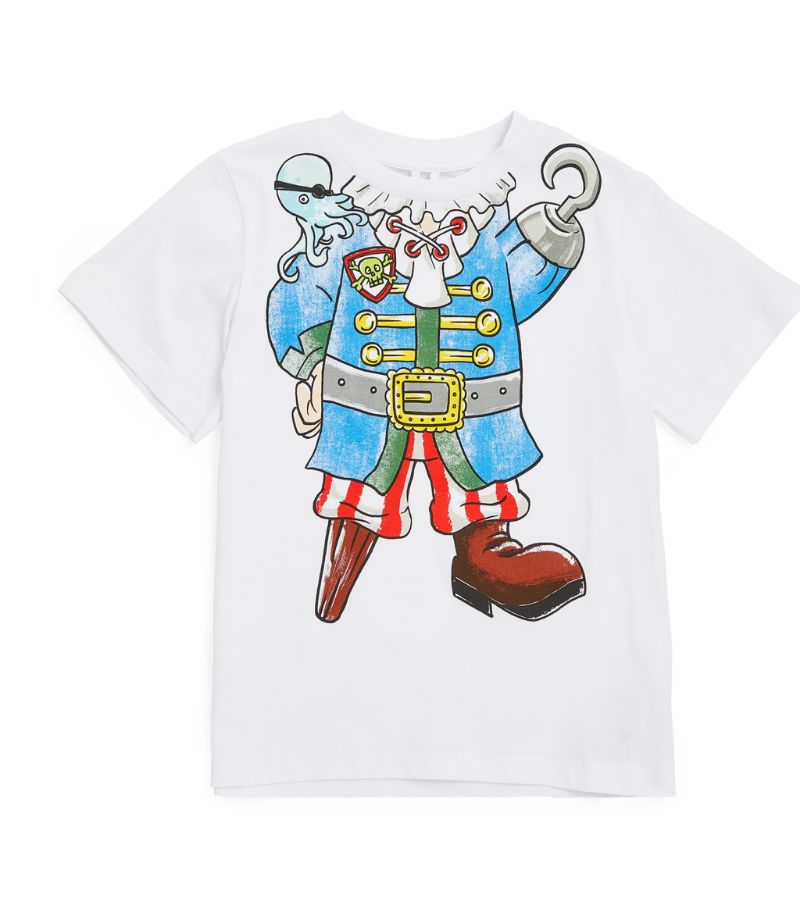 Stella Mccartney Kids Cotton Pirate T-Shirt (3-12 Years)