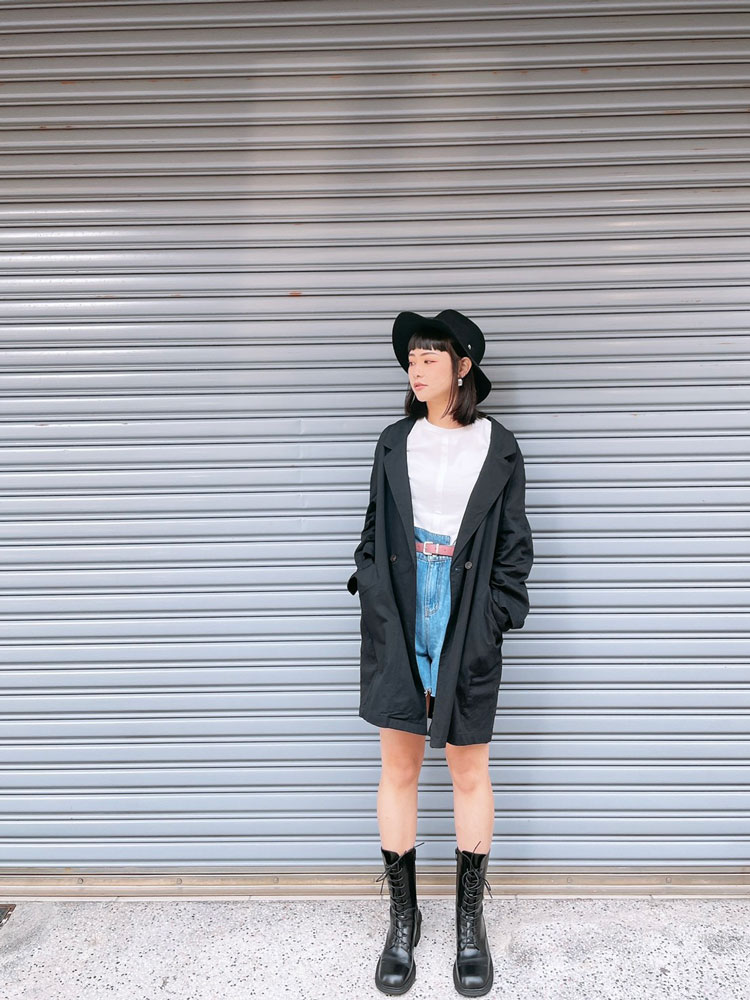 Chemistry_Girls - 韓國 薄款長版 西裝外套 (二色)