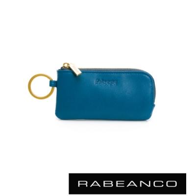 RABEANCO 迷時尚系列鑰匙零錢包 藍色