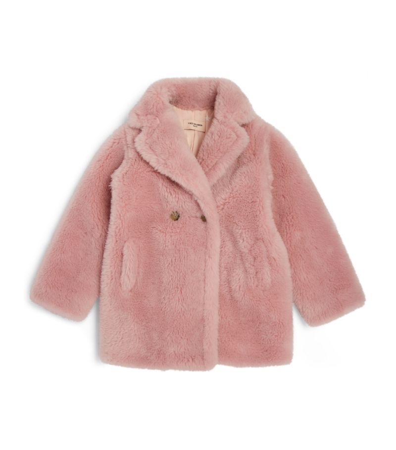 Yves Salomon Enfant Shearling Coat (4-14 Years)