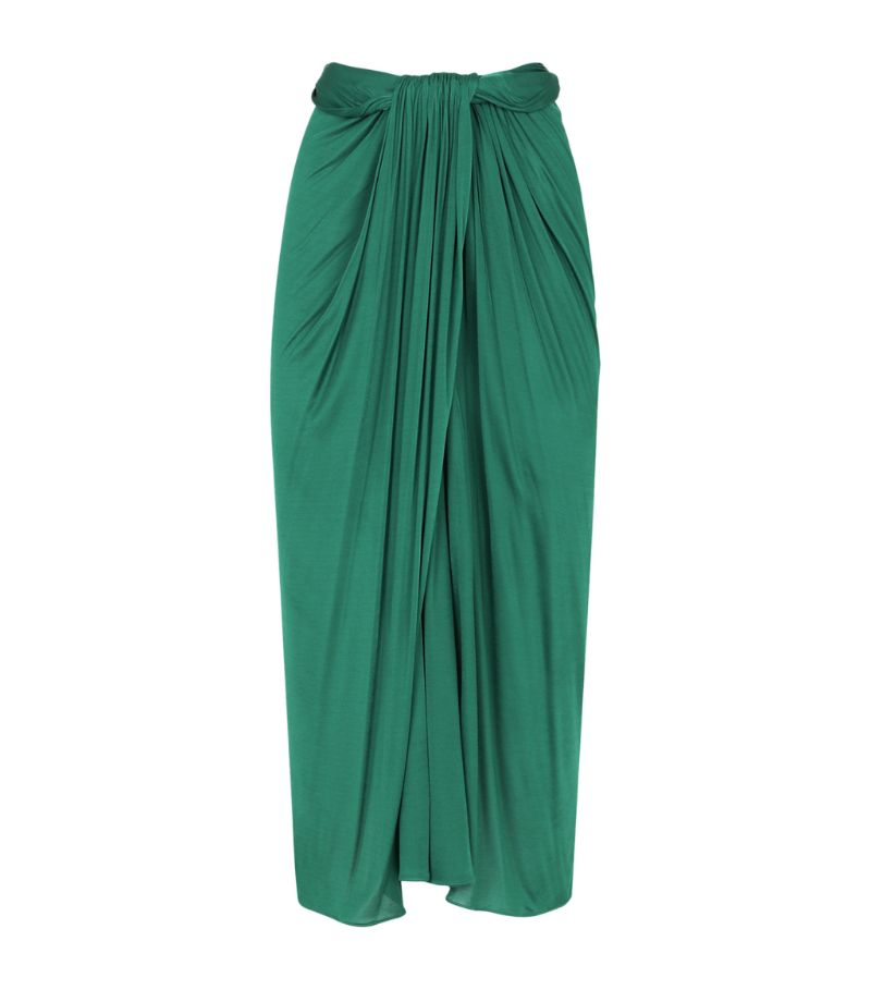 Dolce & Gabbana Draped Midi Skirt