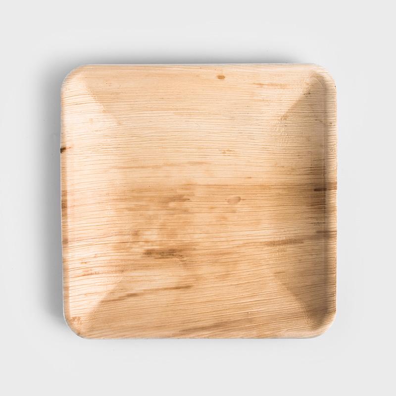 淨塑純粹 26cm 方型淺盤|三入組