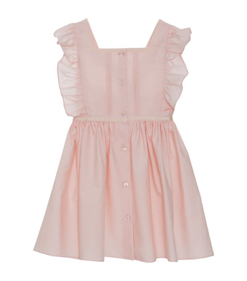 Patachou Frilled Button-Up Dress (4-12 Years)