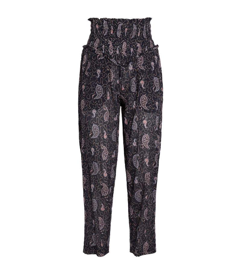 Isabel Marant Étoile Printed Aikley Trousers
