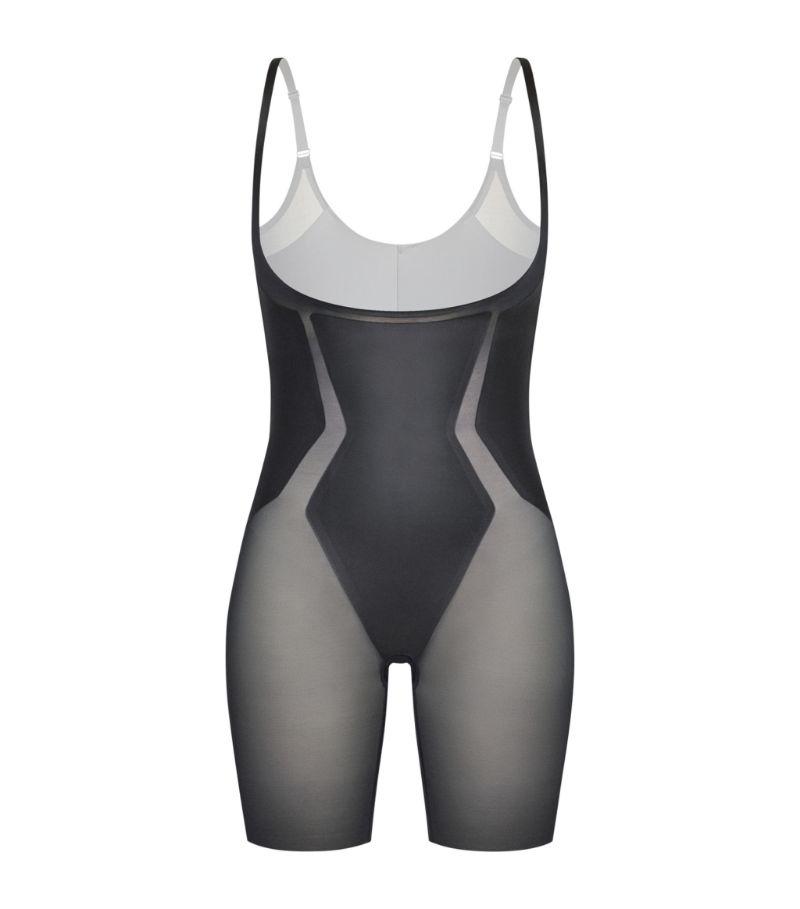 Spanx Haute Contour Open-Bust Mid-Thigh Bodysuit