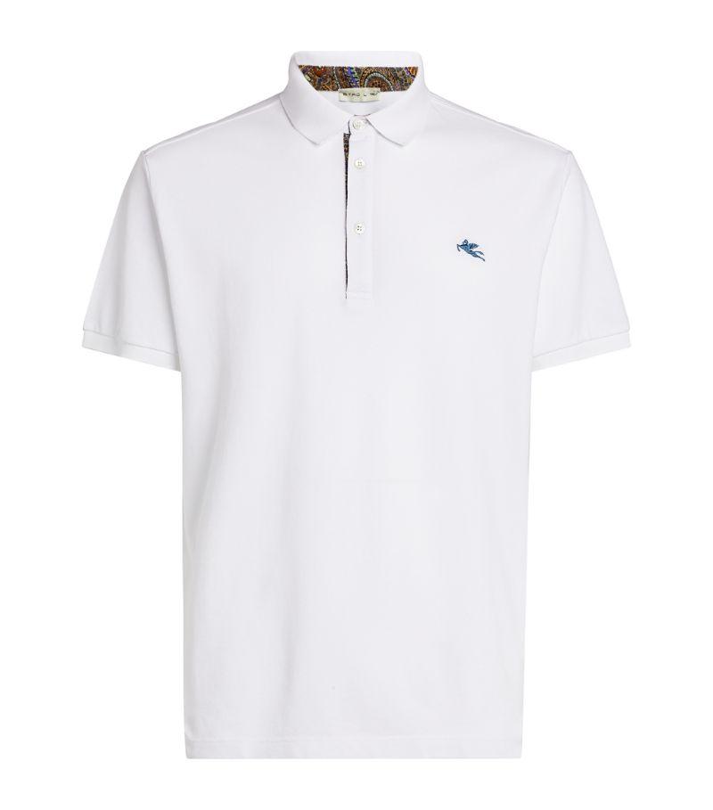 Etro Logo Polo Shirt