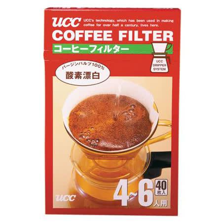 UCC咖啡濾紙CF-4*40入
