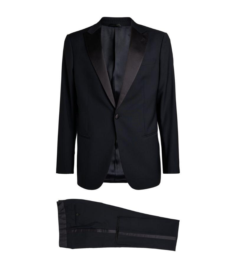 Giorgio Armani Silk-Trimmed Tuxedo Suit