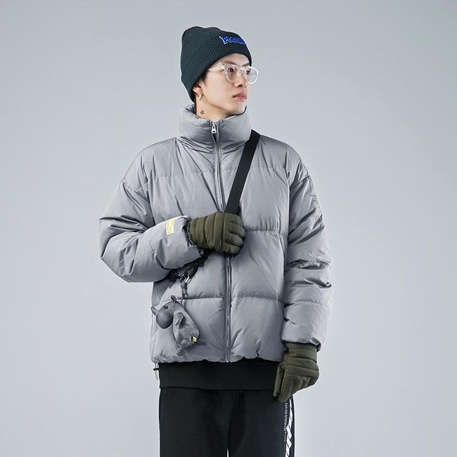 FOFU-(任選2件1588)日系鋪棉外套立領潮牌加厚麵包鋪棉外套【08SB00171】