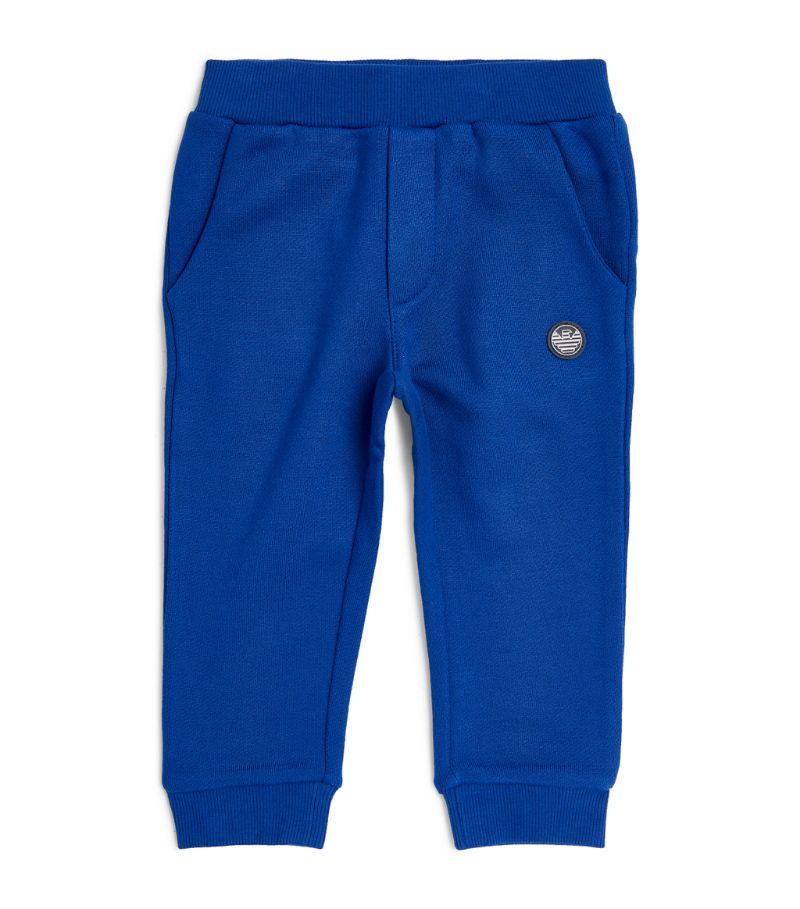 Emporio Armani Kids Logo-Patch Sweatpants (9-36 Months)