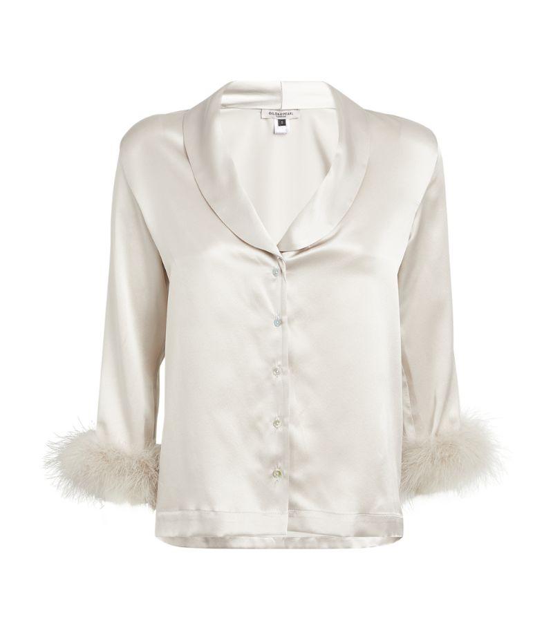 Gilda & Pearl Silk Pyjama Shirt