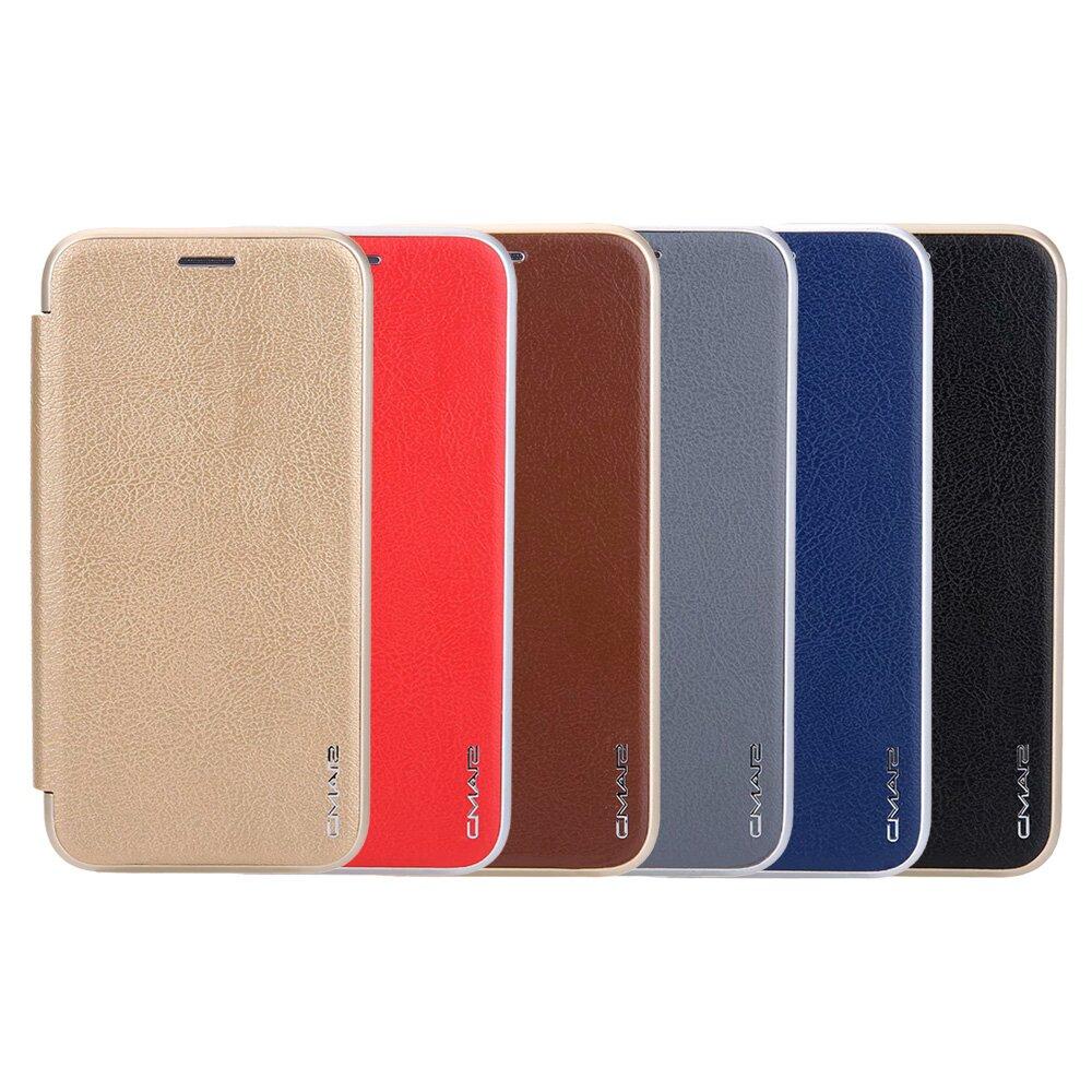 Apple iPhone 12/12 Pro 共用 (6.1吋) 凌瓏極簡系列皮套 頂級皮紋質感 隱形磁扣皮套 多色可選