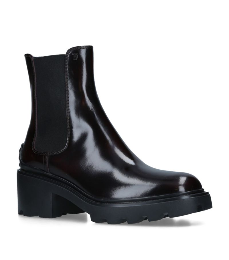 Tod'S Patent Leather Boots 60