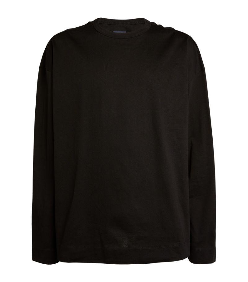 Juun.J Graphic Long-Sleeved T-Shirt