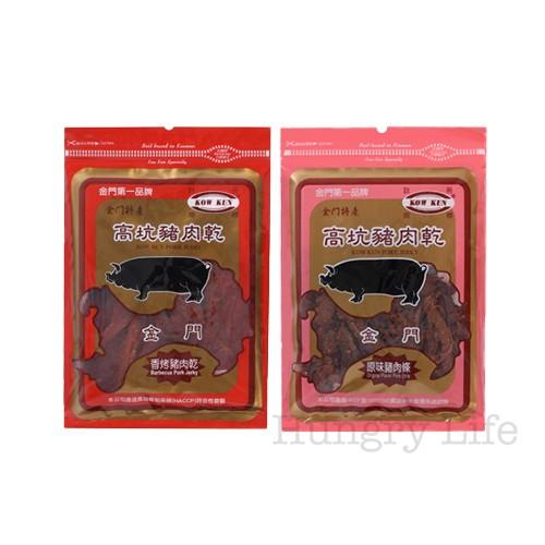 金門 高坑 香烤豬肉乾 原味豬肉條 180g/包