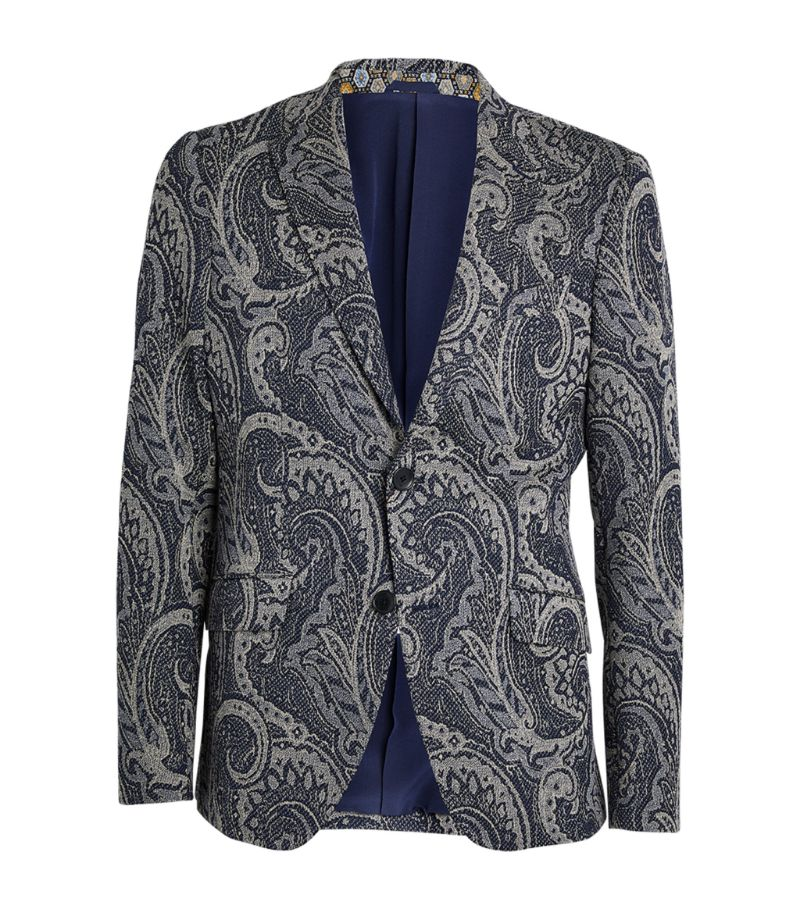 Etro Paisley Tailored Jacket