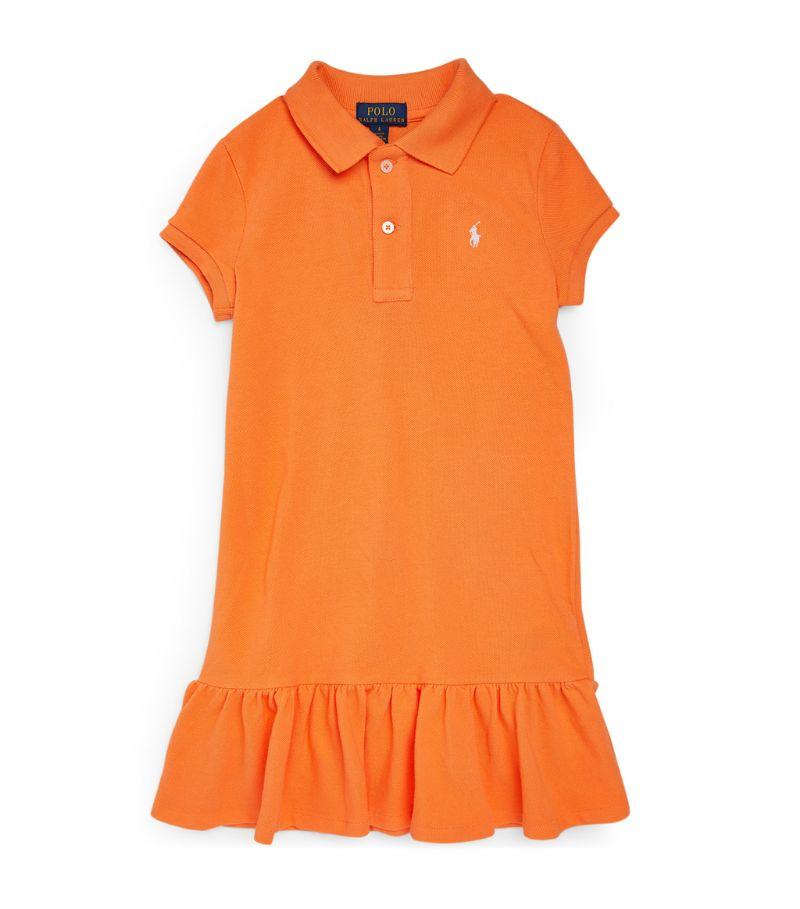 Ralph Lauren Kids Logo Polo Shirt Dress (7-14 Years)