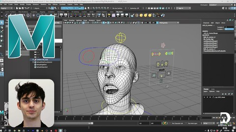 Facial Rigging 101 - Maya 2020