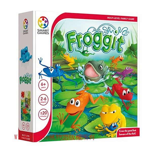 【比利時 Smart Games】益智桌遊 - 01636 青蛙大進擊 ACT06542