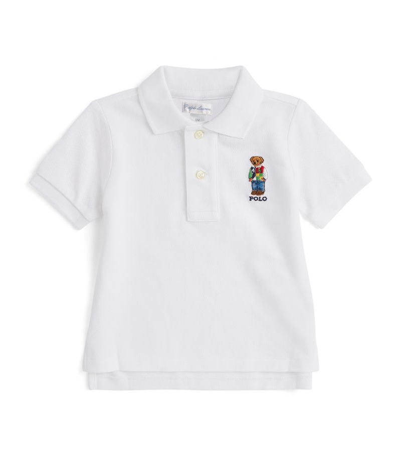 Ralph Lauren Kids Polo Bear Polo Shirt (9-24 Months)