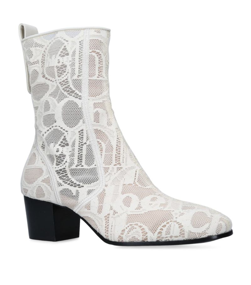 Chloé Lace Goldie Boots 50