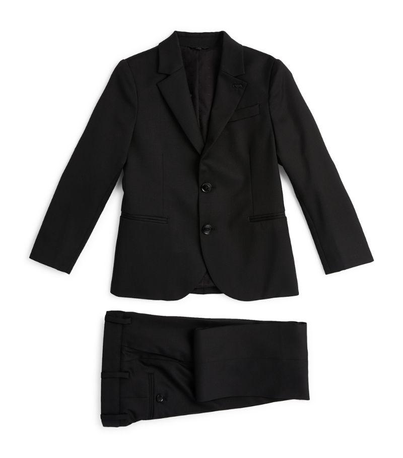 Emporio Armani Kids Virgin Wool Two-Piece Suit (4-16 Years)