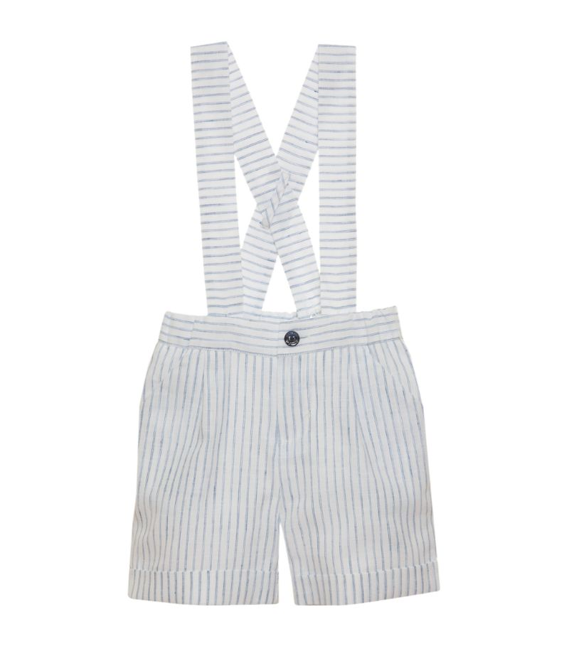 Patachou Striped Dungarees (3-24 Months)