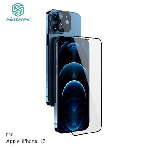 NILLKIN Apple iPhone 12 二合一套裝玻璃貼(螢幕玻璃貼+鏡頭貼)