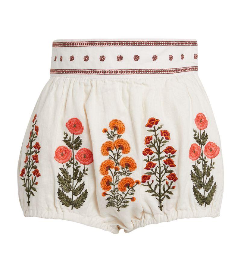 Agua By Agua Bendita Linen Lulo Shorts