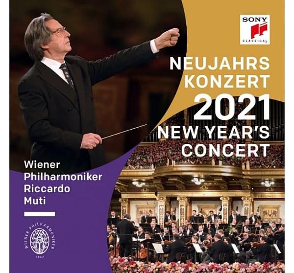 【停看聽音響唱片】【CD】2021年維也納新年音樂會 / 慕提 & 維也納愛樂 (2CD)