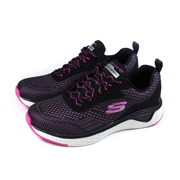 SKECHERS ULTRA LIGHT 運動鞋 女鞋 黑/桃紅 149286BKHP no265