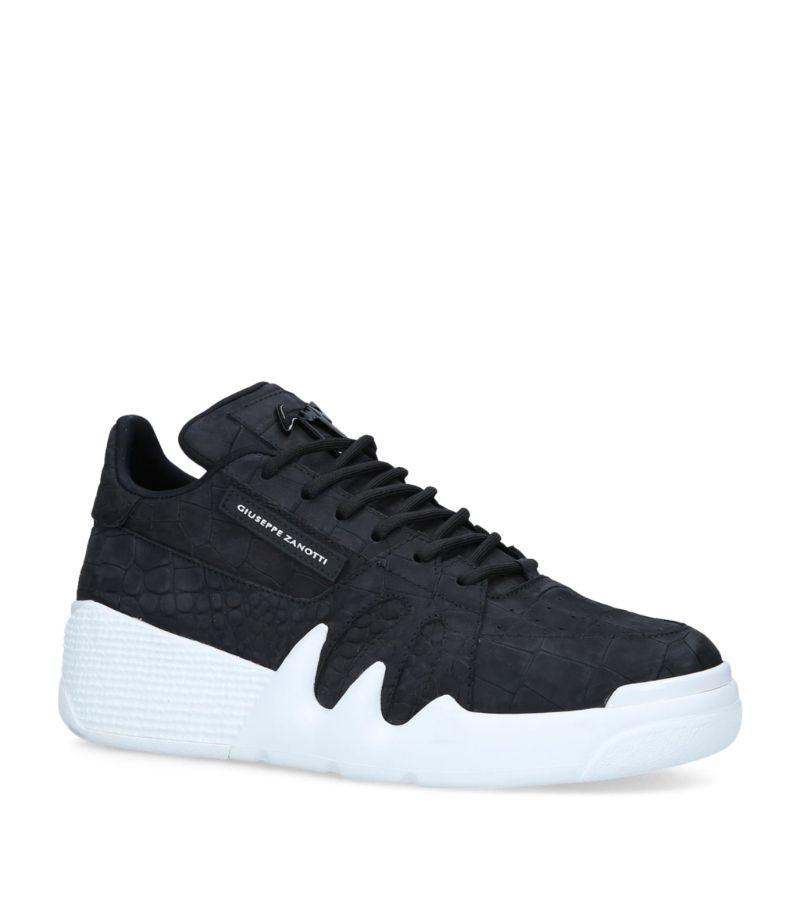 Giuseppe Zanotti Leather Low-Top Talon Sneakers