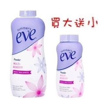 eve 舒摩兒  舒摩兒【現貨】summer's eve 舒粉 198g+57g(旅行隨身瓶)﹝公司貨﹞